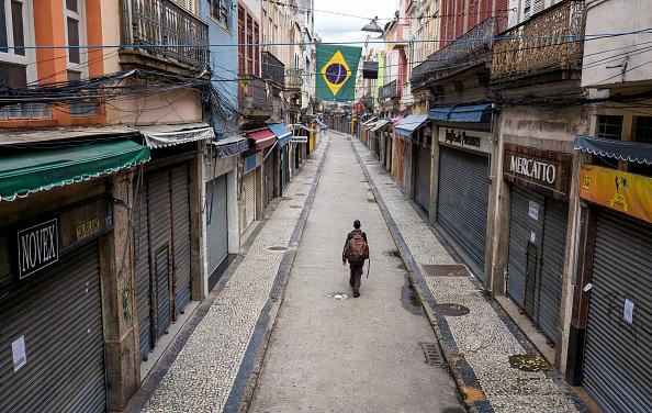 Rio de Janeiro - Saara - coronavírus (Foto: Buda Mendes/Getty Images)