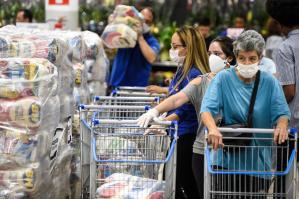 Distribuição de alimentos - pandemia de coronavírus