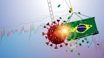 brasil economia covid covid-19 coronavírus comércio exterior