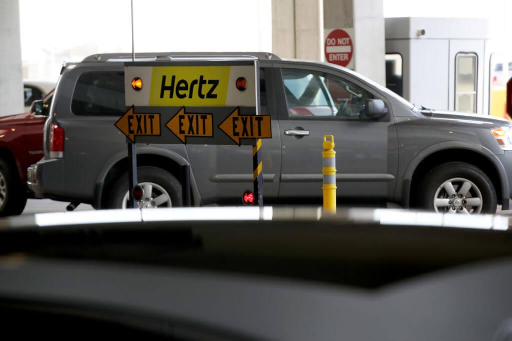 Hertz locadora de veículos
