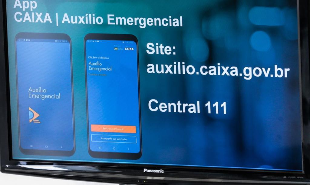 Aplicativo do Auxílio Emergencial da Caixa