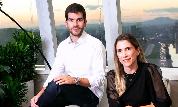 Gustavo Pires e Marta Pinheiro, sócios da XP Inc.