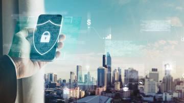 Aplicações de telefonia móvel, segurança de dados e tecnologia de segurança na Internet
