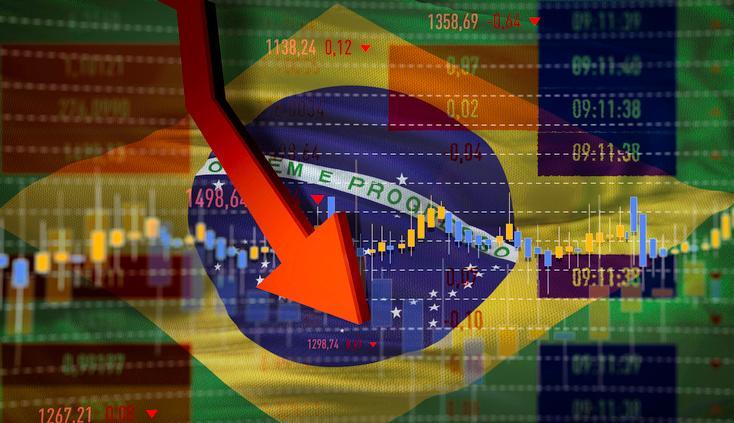 Brasil em queda/crise