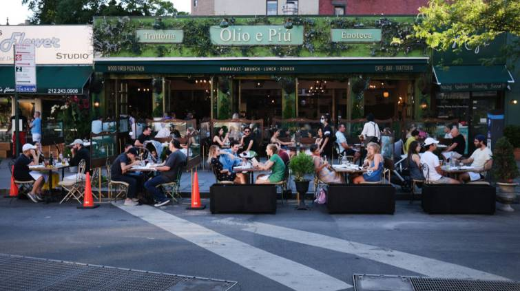 Reabertura Restaurantes Nova York