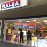 Casas Bahia - loja aberta