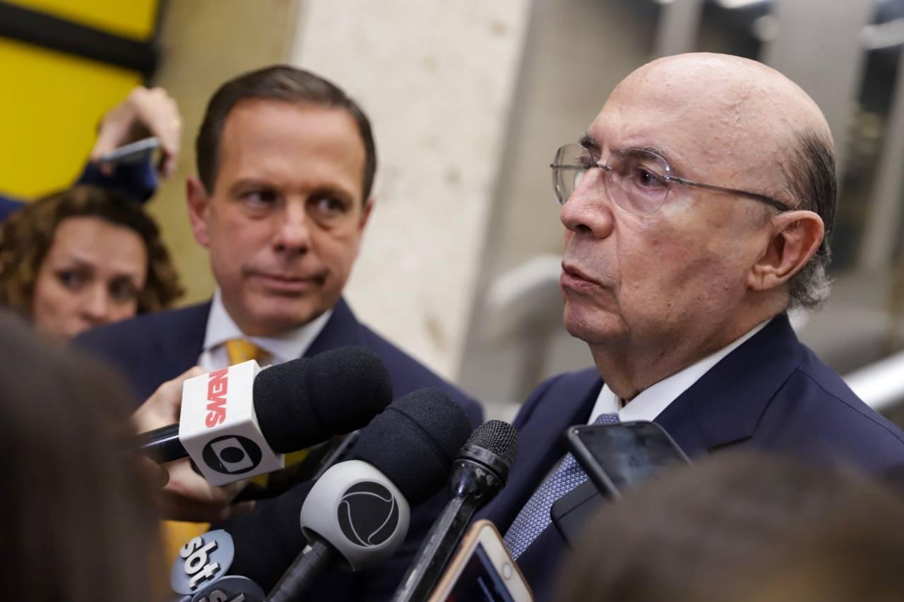 João Dória e Henrique Meirelles