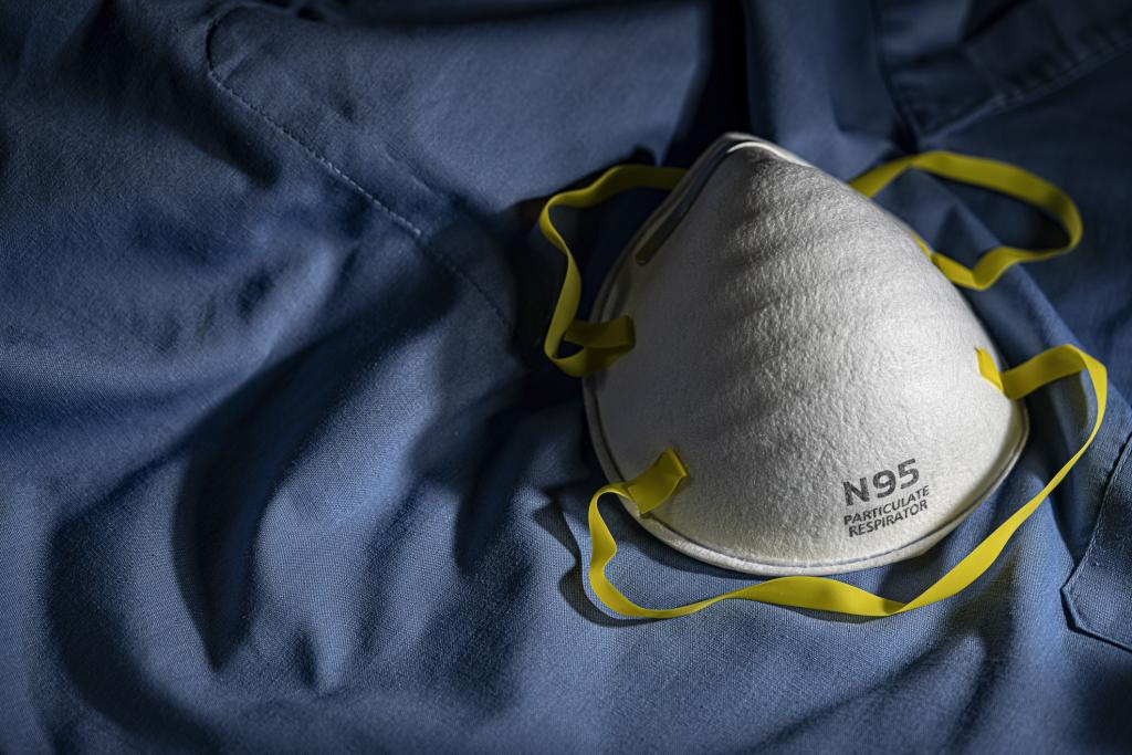 Máscara n95, muito usada na pandemia do novo coronavírus