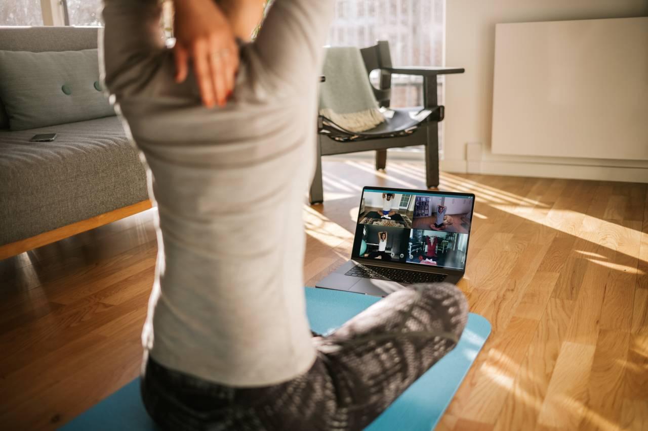 Exercício físico em casa