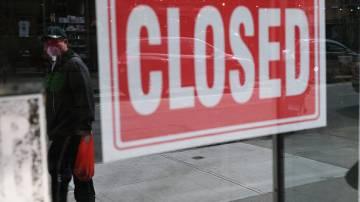 Loja fechada - coronavírus
