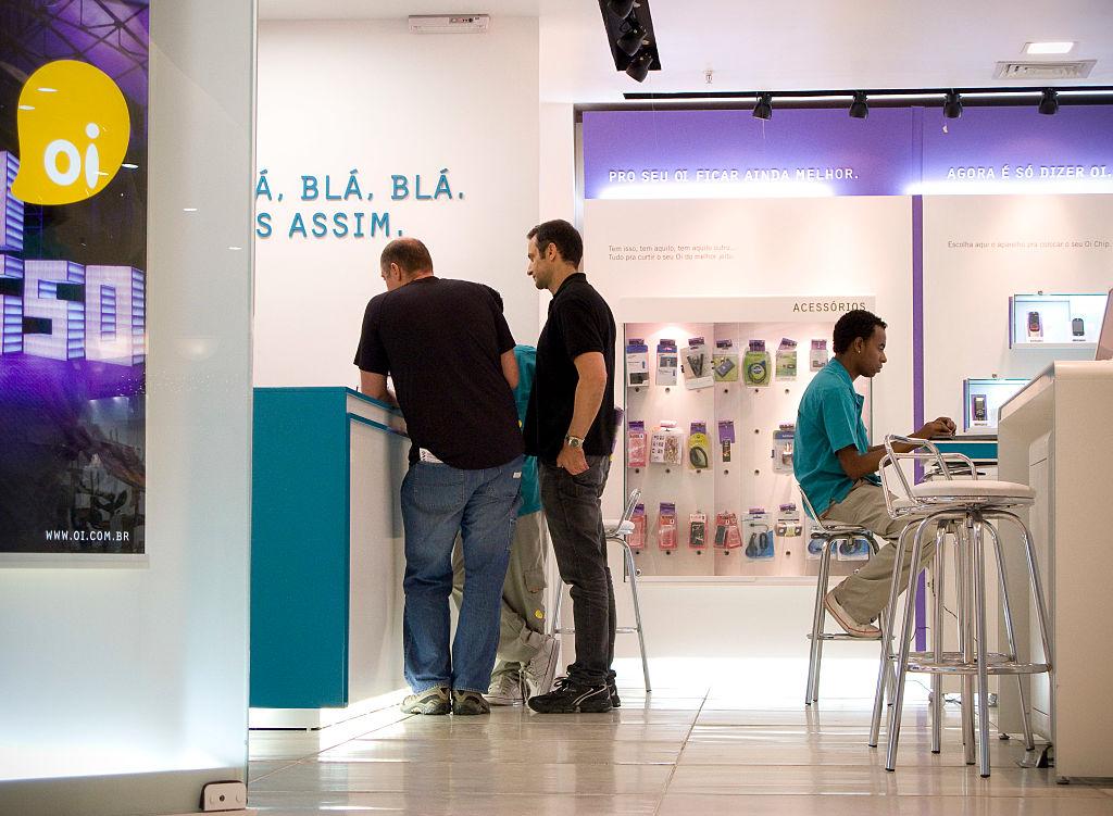Loja da Oi Móvel/Oi telecomunicações em São Paulo