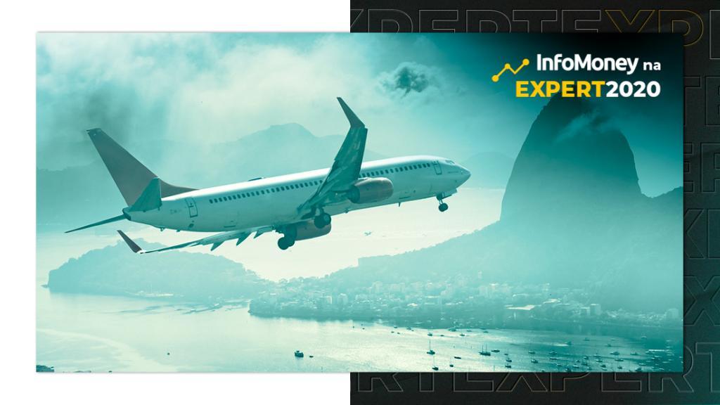 Avião sobrevoa o Rio de Janeiro