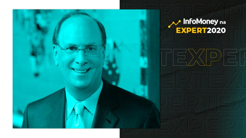 Larry Fink, CEO da BlackRock, na Expert XP 2020