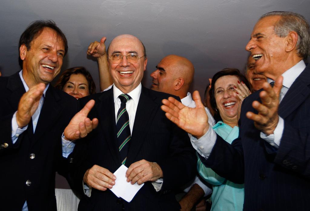Henrique Meirelles filia-se ao PMDB