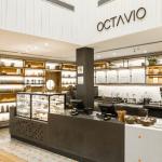 Parte interna da cafeteria Octavio Café no Aeroporto Internacional de Viracopos, em Campinas (SP)