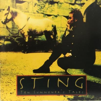 Capa do CD Ten Summoner's Tales, de Sting