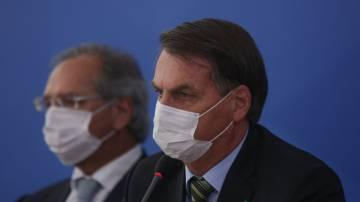 Jair Bolsonaro e Paulo Guedes