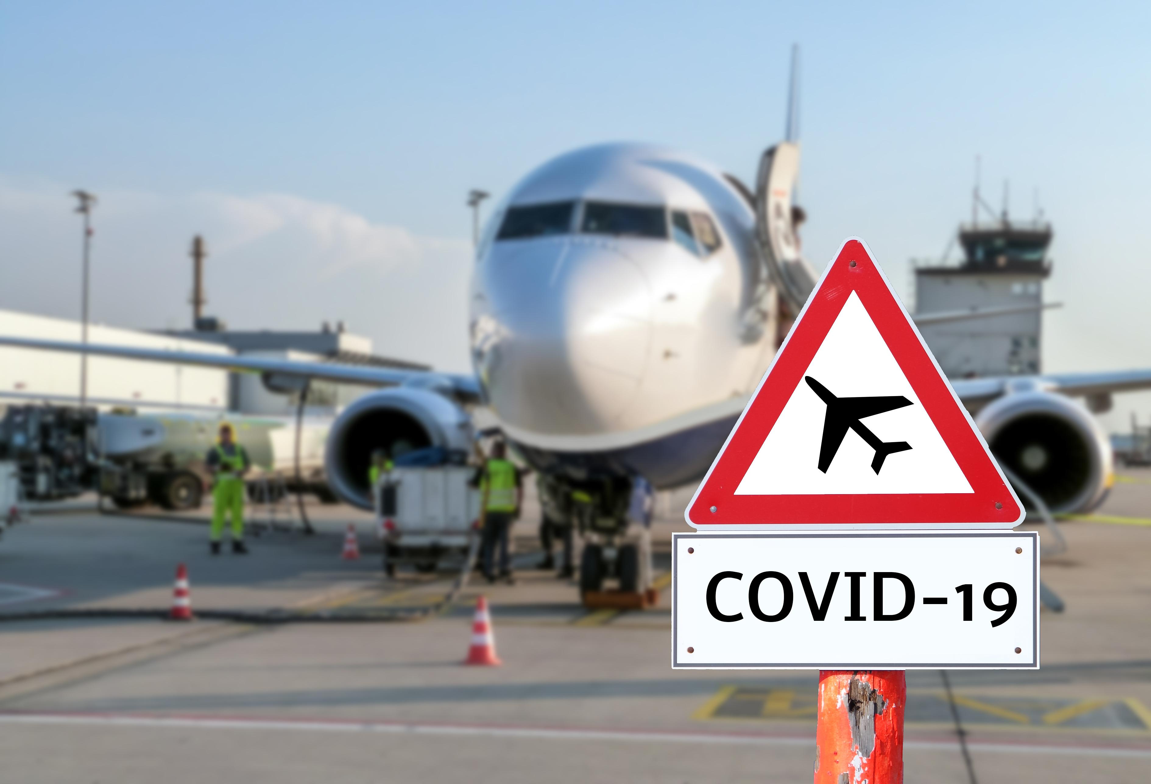 Testes de Covid em aeroportos ganham impulso ao redor do mundo