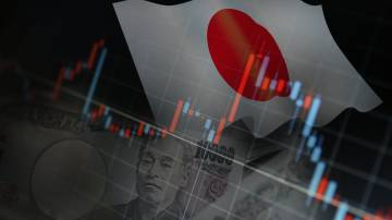 gráfico índices japão ações iene