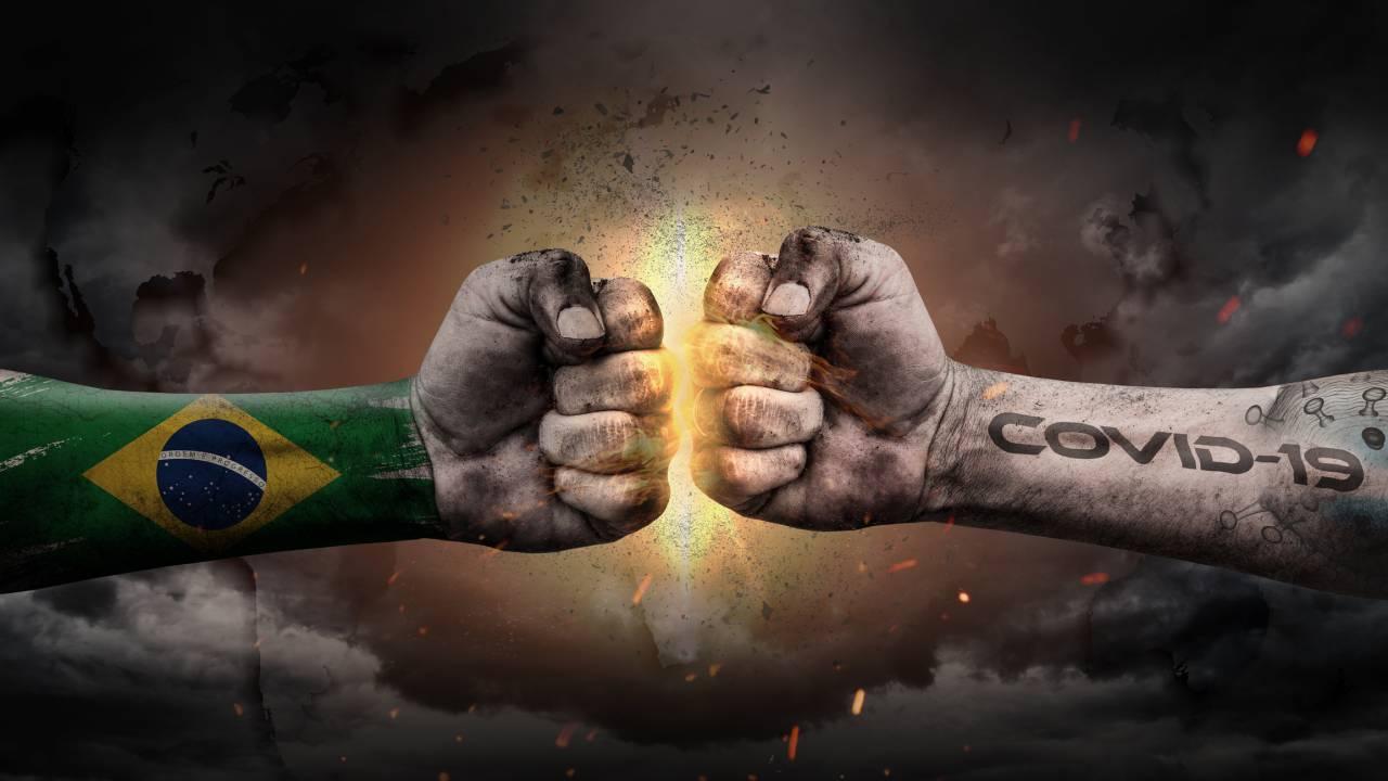 Brazil vs Coronavirus.