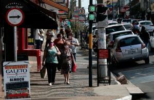 Comércio de rua em São Paulo