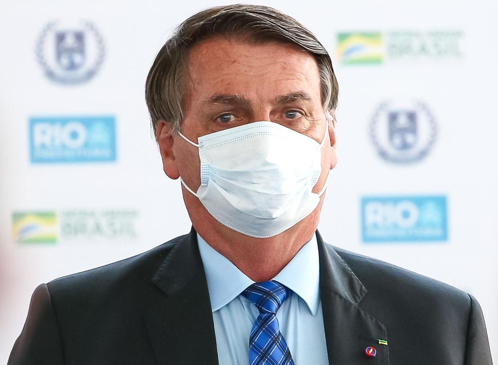 Bolsonaro participa de evento no Rio de Janeiro