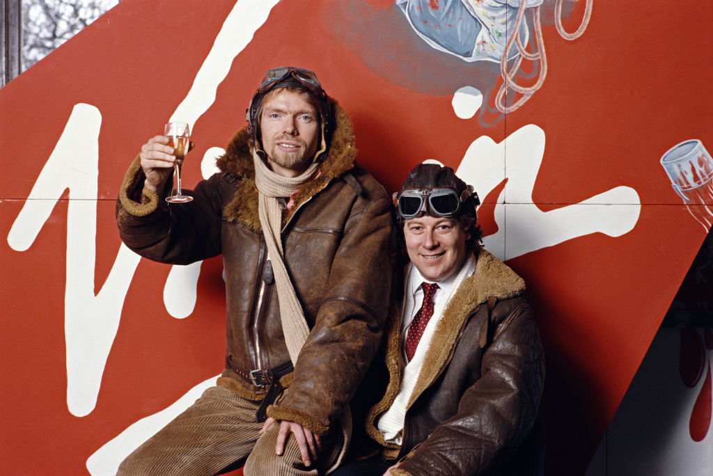 Richard Branson e Randolph Fields