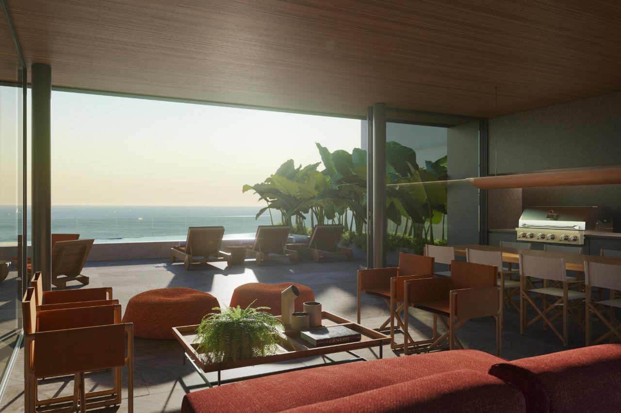 Atlantico Bait, novo empreendimento de luxo na orla de Copacabana