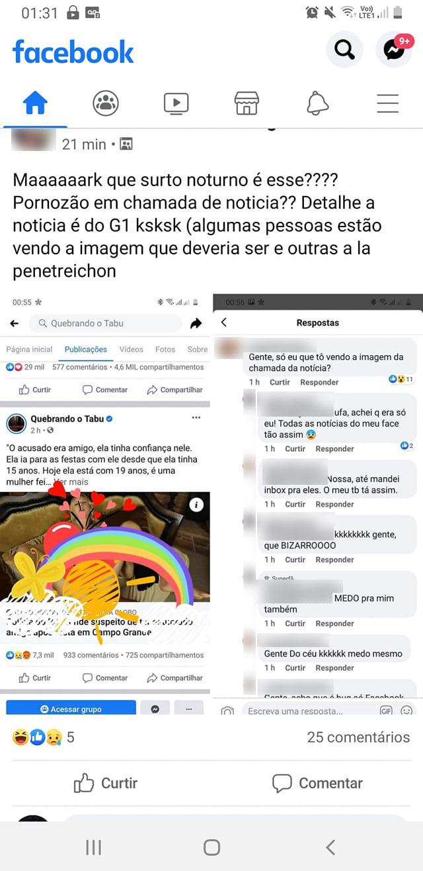 print facebook pronografia