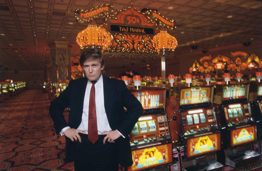 Donald Trump no casino Taj Mahal