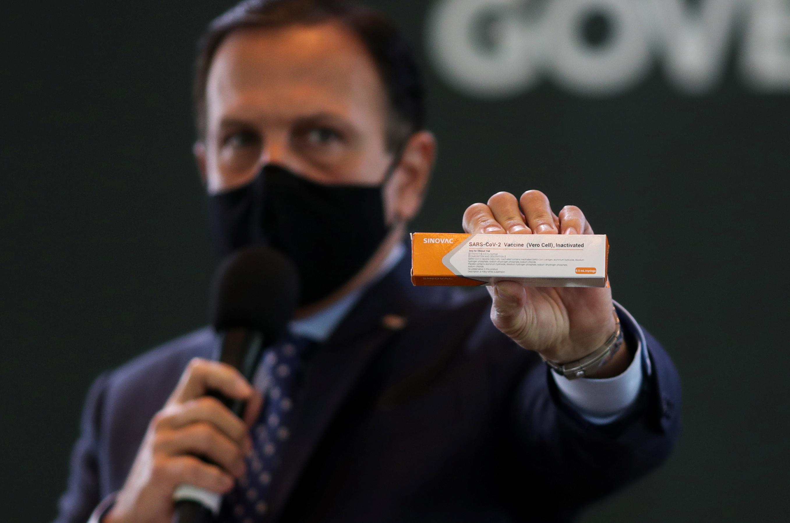 Em evento liderado por Doria, Sarney, FHC e Temer defendem vacinação contra Covid-19
