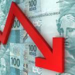 Inflação queda real taxa