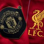 Manchester United and Liverpool Club Badges