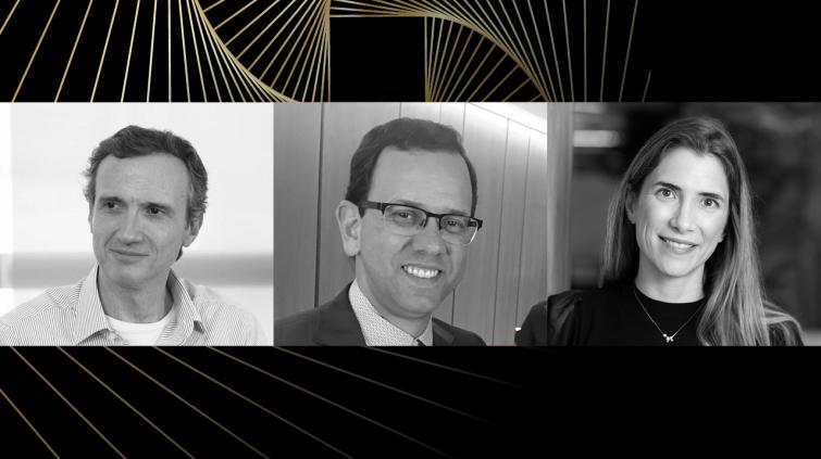 Florian Bartunek, Márcio Correia e Marta Pinheiro no Melhores da Bolsa 2020