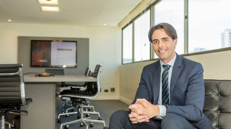CEO da Moura Dubeux, Diego Villar