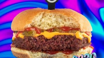 Futuro Burger 2030, da Fazenda Futuro (Foto: Divulgação)