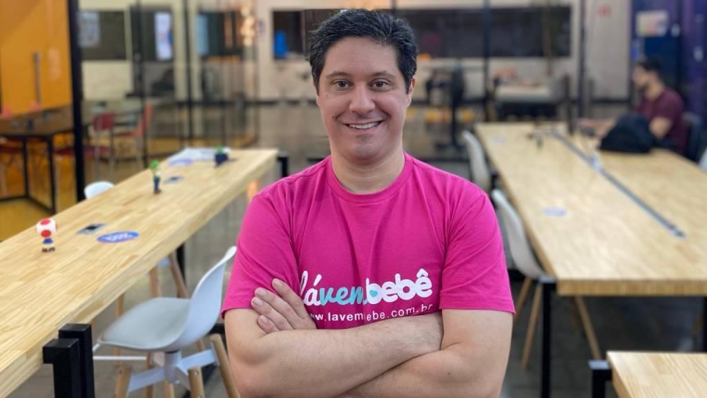 Michel Zreik, CEO da Lá Vem Bebê (Divulgação)