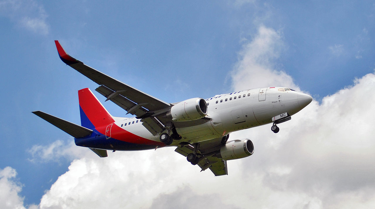 Sriwijaya Air Boeing 737-500, mesmo modelo da aeronave que sumiu na Indonésia