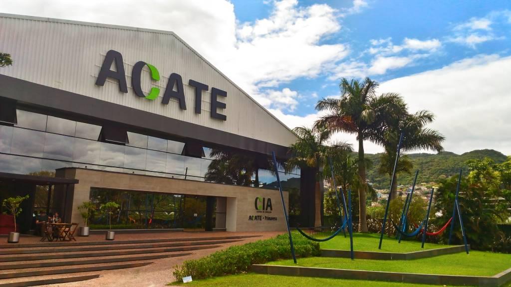 Sede da Associação Catarinense de Tecnologia (Acate) (Divulgação)