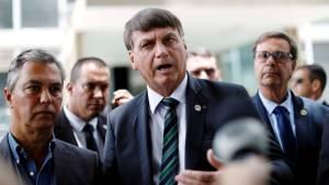 Presidente Jair Bolsonaro após reunião no Ministério da Economia em Brasília 27/01/2021 REUTERS/Ueslei Marcelino