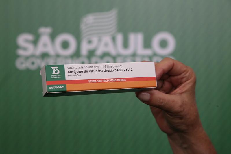 ButanVac, vacina brasileira desenvolvida pelo Butantan