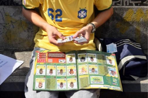 Álbum de figurinhas da Copa 2010
