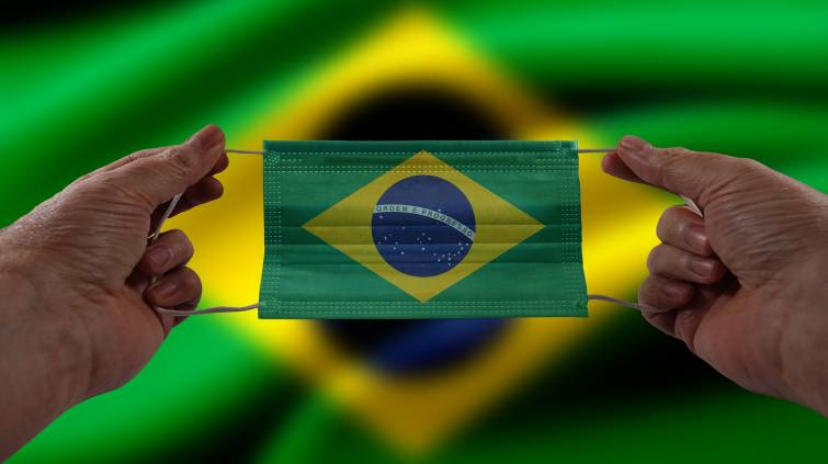 Brasil máscara covid coronavírus
