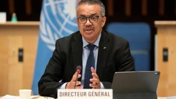 Diretor-geral da OMS, Tedros Adhanom Ghebreyesus 21/01/2021 Christopher Black/OMS/Divulgação via REUTERS