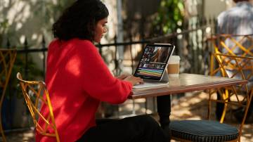 Nova versão do iPad Pro, da Apple (Apple/Divulgação)