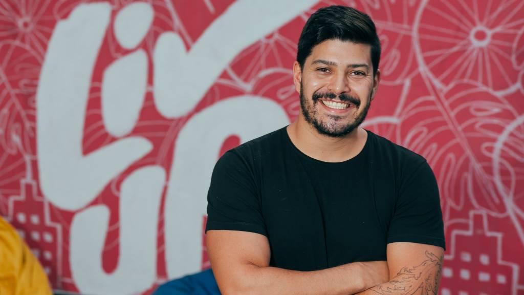 Victor Santos, cofundador da LivUp (Divulgação)