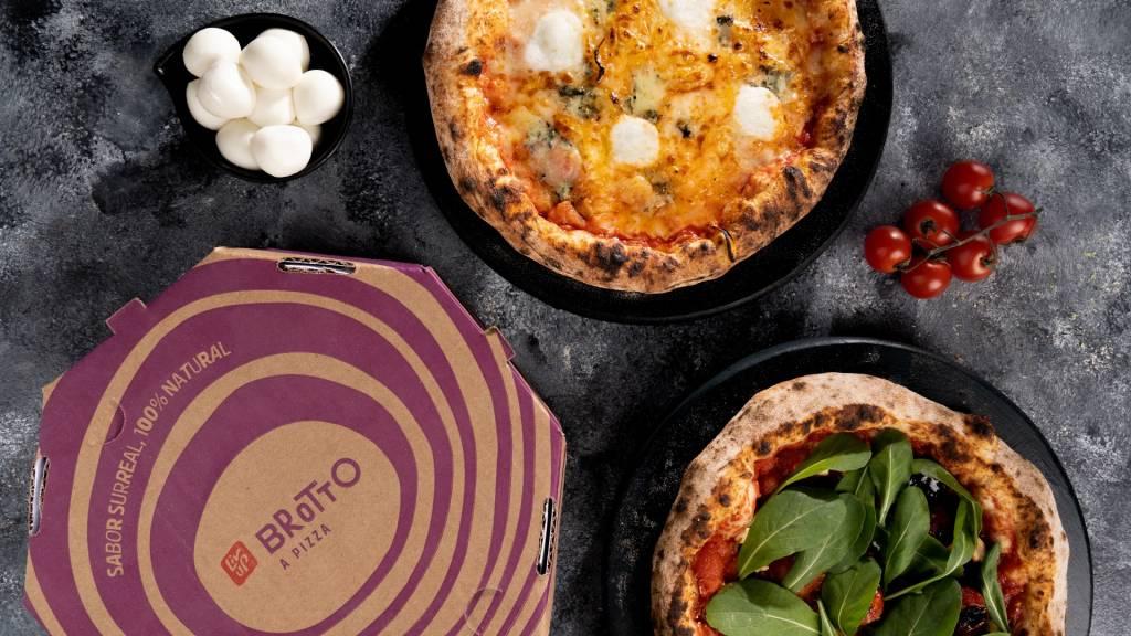 Pizza da LivUp (Divulgação)
