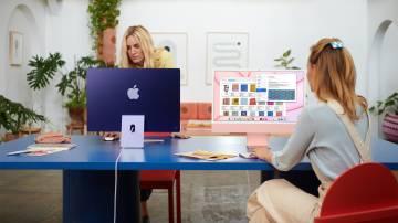 Novo iMac, da Apple (Apple/Divulgação)