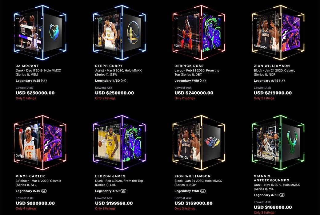 NBA Top Shot/NFTs