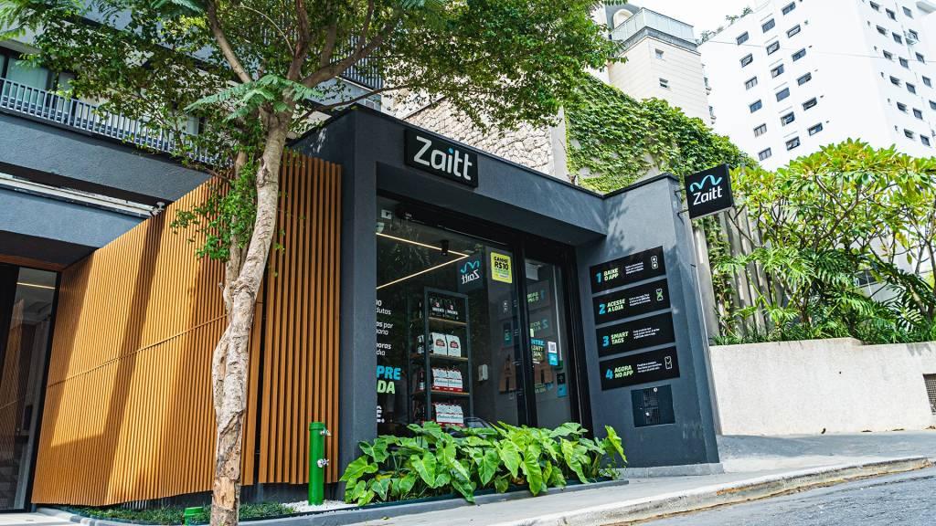 Loja autônoma da Zaitt (Divulgação)